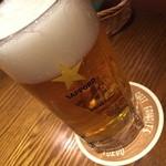 48047455 - サッポロビール 黒ラベル 中ジョッキ(630円+税)2016年2月
