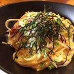 Ωcafe - 和風カルボナーラ