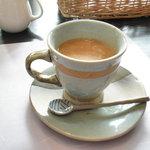 月の花 梟 - 食後のコーヒー