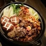 Ushigorokan - 味噌ベースの鍋:煮込む前