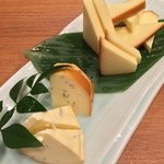 一平 - チーズ盛り合わせ