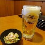 慶太郎酒場 - 飲み放題(1000円)の生ビール