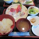 海樂人 - 料理写真:お刺身定食2016.02.29
