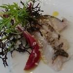 48061616 - 2016年2月 三河湾の太刀魚炙り ペシュクルード