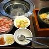 焼肉 宝島 - 料理写真:石焼き風ビビンバ・焼肉ランチ 1,058円