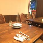 欅亭 - H28.02.26 テーブル席