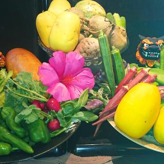 あらたす市場で仕入れる新鮮『宮古島野菜』
