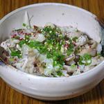 とんちゃん - 鶏皮ポン酢