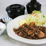 味喰笑 - もち豚バラ生姜焼き御膳1,100円(税込)