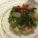 リストランテ サクラ - 前菜のカルパッチョ