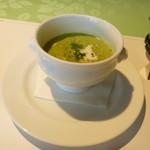 48074465 - スープ ブロッコリーのポタージュ
