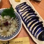一平 - 蛸わさび/茄子一本漬け