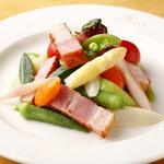 カマラダ - 厚切りベーコンの温野菜