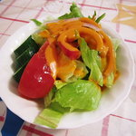 木のぴーHouse - セットのサラダ