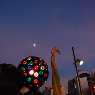 ◆◇夜空にむかってカンパーイ◇◆9月末まで営業いたします♪