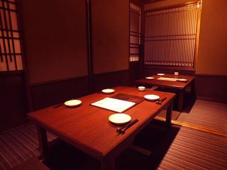個室接待・打ちたて蕎麦 永山 - :ご宴会は少人数様から20名様までがゆったりご利用頂けます。