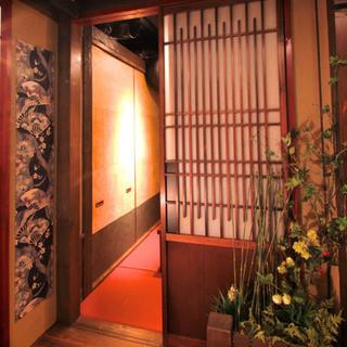 個室接待・打ちたて蕎麦 永山 - 内観写真