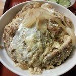 ニコー - カツ丼のアップ
