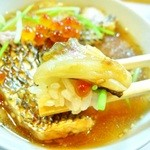 広起 - 鯛茶漬け(茶漬けタレはオリジナルの美味しいタレで作ってます)