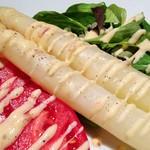 コラボル - ホワイトアスパラのサラダ