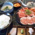 あみやき亭 - ランチ焼肉セット