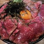48085379 - ローストビーフ丼(ダブル) 1,200円