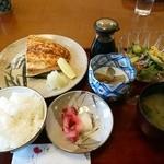 季節料理 なかはら - 「焼き魚定食(カンパチ)」 ¥950(税込)
