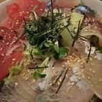 和膳ゆずり葉 - カンパチ、シメサバ、マグロ!