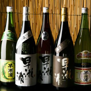 福井の地酒をはじめとしたご当地ドリンクの数々!