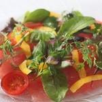 ラ・ベルデ - 【Antipasto】ピチピチ鮮魚のカルパッチョ