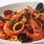 ラ・ベルデ - 【Pasta】魚介のペスカトーレ~リングイネ~