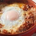 ラ・ベルデ - 【Pizza 窯焼き】半熟卵をのせたラザニアのピッツァ窯焼き