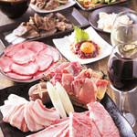 甲州精肉酒臓 - 料理写真:2016送別会コース