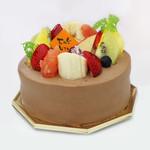 菓子工房みわあおに五月台4丁目 - デコレーションチョコケーキ4号(予約可)