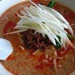 中華 萬福食堂 - クルミ担々麺