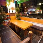 オムニ食堂 - 内観写真:テラス席