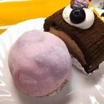 Souvenir - いちご大福ケーキとショコラロール★       牛皮は桜の香りがする!