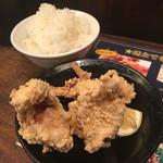 麺屋 侍 - 天領米、からあげハーフ