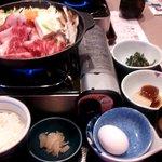 夢庵 - 料理写真:国産牛の贅沢すき焼き鍋膳
