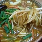 そば茶や楽亭 - 野菜カレーそうめん ¥700