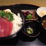 まゆとろ - 鉄火丼1296円