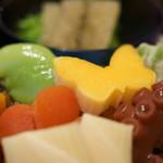 草津亭 - 口取(くちどり)、鶏卵(たまご)