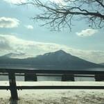 48096984 - 支笏湖です。                       旧称死骨湖⁉︎