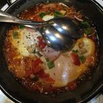 タベルナ カディス - なんとかエッグ…卵を崩してたべます♬
