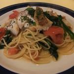 ラガッツォ - 本日のお魚(イトヨリダイ)のスパゲッティーニ