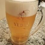 美津の - 生ビール