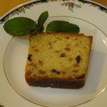 茉莉花 - パウンドケーキ