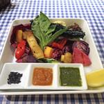 天現寺ガーデン - サプライズ満載グリル野菜