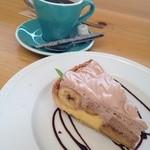 This Is Cafe - ランチのチョコバナナタルト