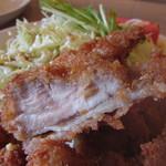 エルフィンルーク - 朝引き鶏のチキンカツ